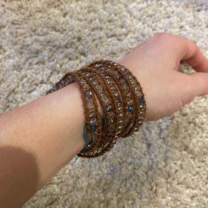 VICTORIA EMERSON | wrap bracelet